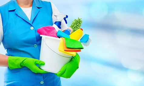 schoonmaakmiddelen voor een corona-proof kantoor