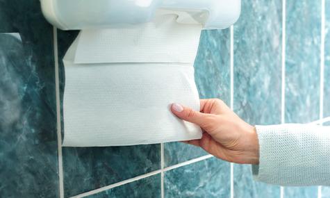 papieren handdoekjes meest hygiënisch voor handen drogen