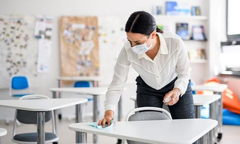 Grondige Zomerschoonmaak Onderwijsinstellingen